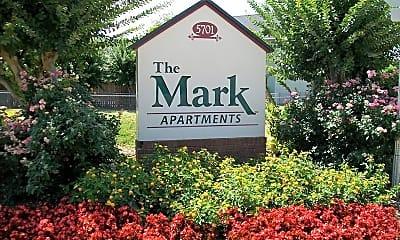 Community Signage, The Mark Apartments, 0