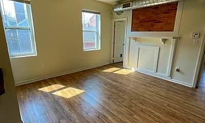 Living Room, 1200 Loraine St, 1