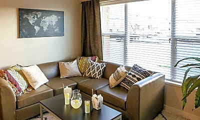 Living Room, 8N Lofts, 1