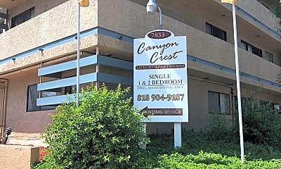Canyon Crest, 1