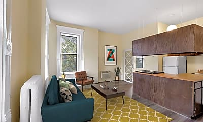Living Room, 1009 Park Ave 322, 0