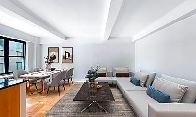 Living Room, 141 E 56th Street, Unit 11H, 0