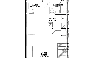 Bedroom, 240 Long Branch Ave, 2