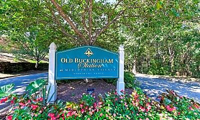 Community Signage, Old Buckingham Station, 2