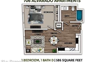 706 N Alvarado St, 0