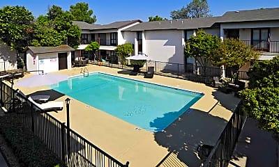 Pool, Quadrangle Apartments, 0