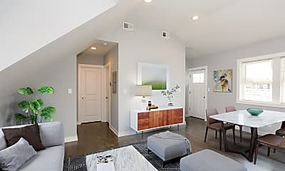 Living Room, 1619 N Maplewood Ave, 0