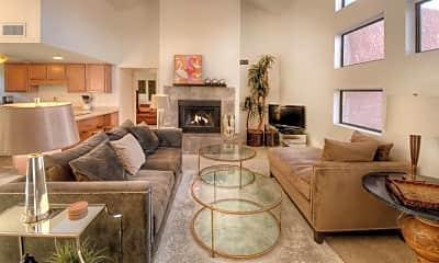 Living Room, 5051 N Sabino Canyon Rd 2211, 1