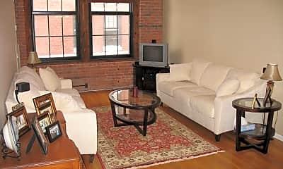 Living Room, 1243 Adams Street Apt 307, 1