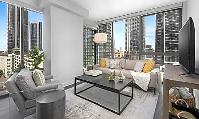 Living Room, 218 W Kinzie St, 1