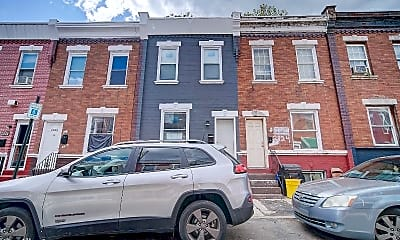Building, 2822 N Taney St, 2