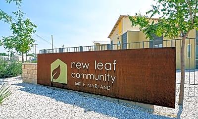 Community Signage, New Leaf Community, 2
