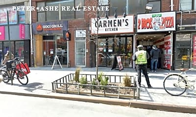 Community Signage, 599 6th Ave, 2