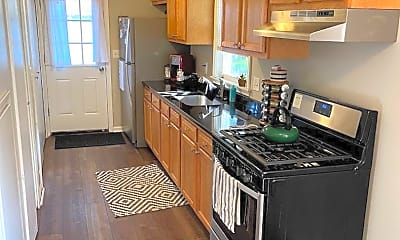 Kitchen, 1651 Browning St, 1