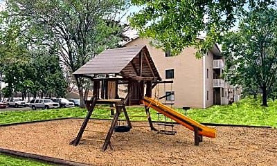 Playground, Park Forest Apartments, 1
