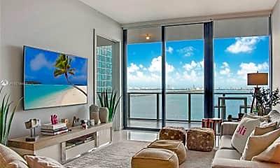 Living Room, 480 NE 31st St 1106, 0