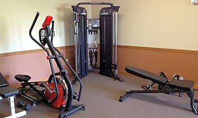 Fitness Weight Room, Prairie Park at Swan Creek, 2