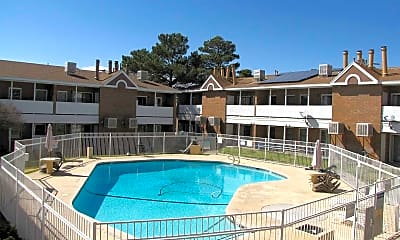 Pool, Woodcrest Apartment Homes, 1