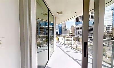Patio / Deck, 2501 N Houston St 2208, 1