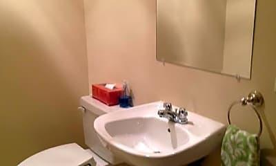 Bathroom, 400 Cross St, 1