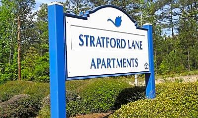 Community Signage, Stratford Lane Apartments, 2