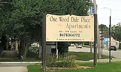 One Wood Dale Apartments, 1