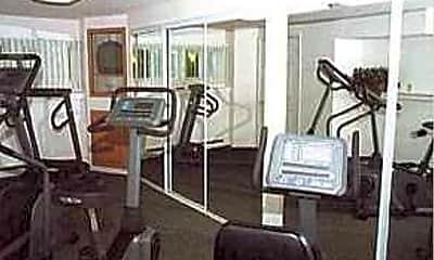 Fitness Weight Room, Chestnut Crossing, 2