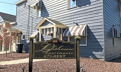 Community Signage, 102 N Gilfillan St, 0