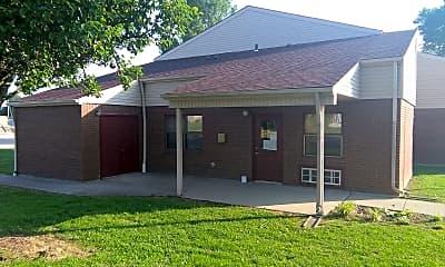 Building, 8110 Main Street, 1