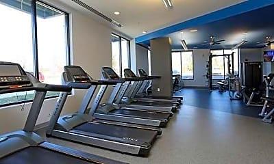 Fitness Weight Room, Lofts at SA South, 2