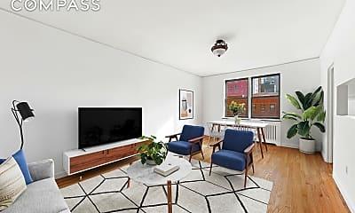 Living Room, 245 E 37th St 3-H, 0