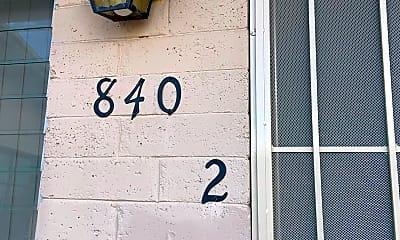 Community Signage, 840 E Elm St 2, 1