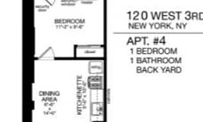 Patio / Deck, 120 W 3rd St, 2