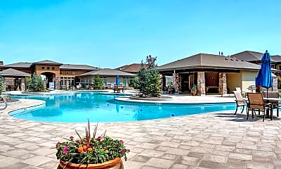 Pool, Red Tail Luxury Apartments, 1