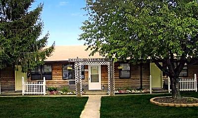 Building, Cedar Village Apartments, 0