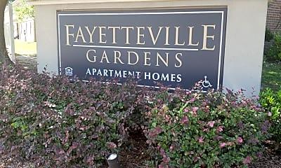 Fayetteville Gardens, 1