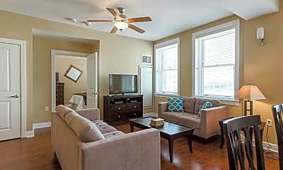 Living Room, Standard Life Flats, 1