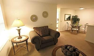 Living Room, Derby Run Apartments, 1