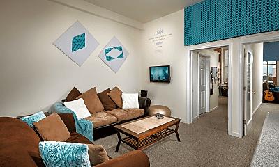 Living Room, Coliseum Lofts, 1