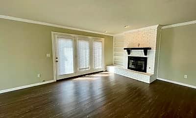 Living Room, 12001 Shady Trail Lane, 1
