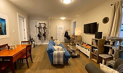 Living Room, 1460 Carroll St, 1