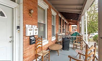 Patio / Deck, 1514 W Westmoreland St, 1