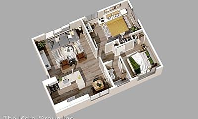 Living Room, 240 Spring St, 1