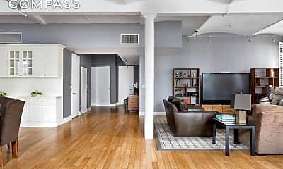 Living Room, 130 Fulton St 9-B, 1