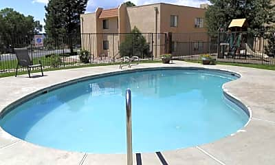 Pool, The Hills Apartments, 0