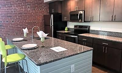 Kitchen, Port City Apartments, 0