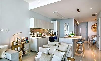 Living Room, 480 NE 31st St 1106, 1