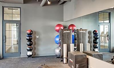 Fitness Weight Room, Solaris Lofts, 2