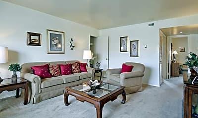 Living Room, Warwick Village, 1