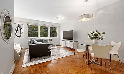 Living Room, 245 E 35th St 5-K, 1